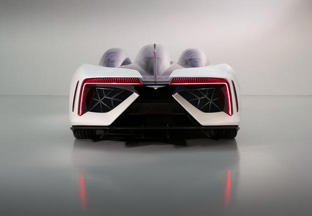 Фото №2 - Techrules Ren: гибридный суперкар с дизельными газотурбинными двигателями. Э-э-э… Что?