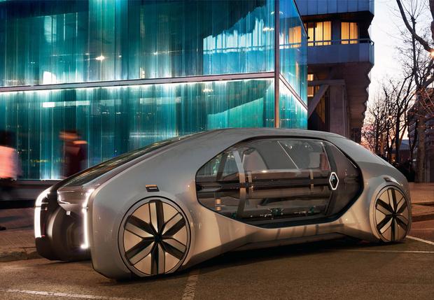 Фото №1 - Renault EZ-GO: это тебе не марштурка!