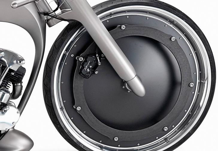 Фото №1 - Лунный гонщик. Самый парадоксальный мотоцикл будущего, на который копит деньги каждый десятый байкер
