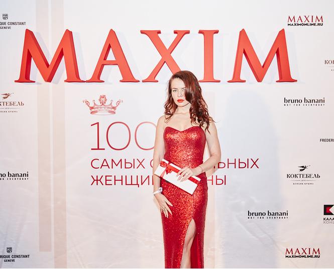 Журнал MAXIM дал торжественный старт голосованию «100 самых сексуальных женщин страны» на вечеринке в Lexus Dome
