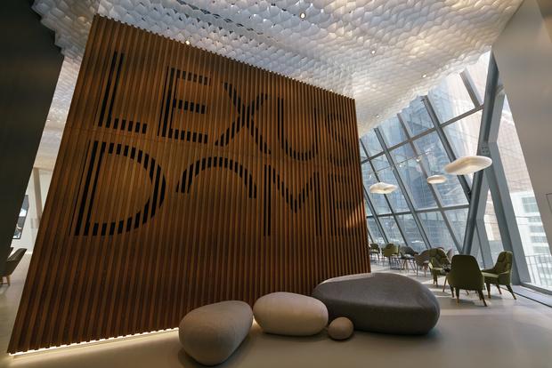 Фото №6 - Lexus Dome — новое мультифункциональное пространство в Москве