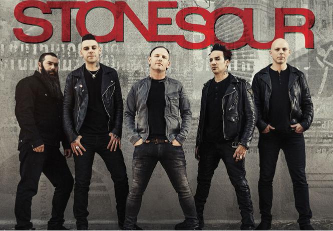 Stone Sour едут в Москву!