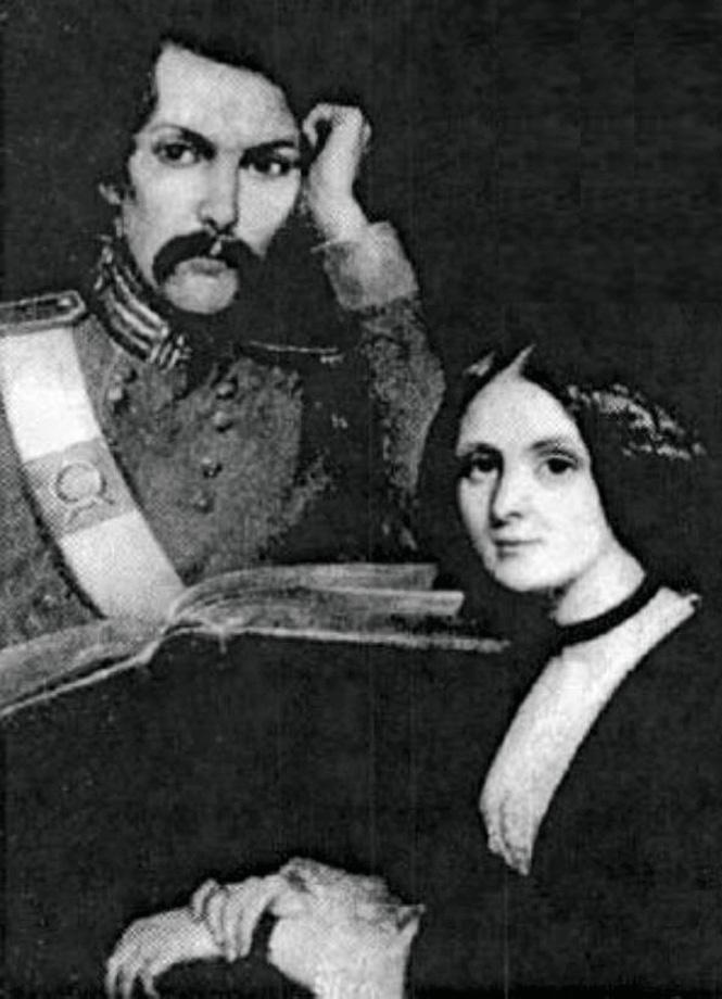 С сестрой Марией перед отправкой в армию