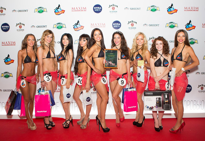 Фото №1 - Победительницы Miss MAXIM 2013! Видео- и фотоотчет