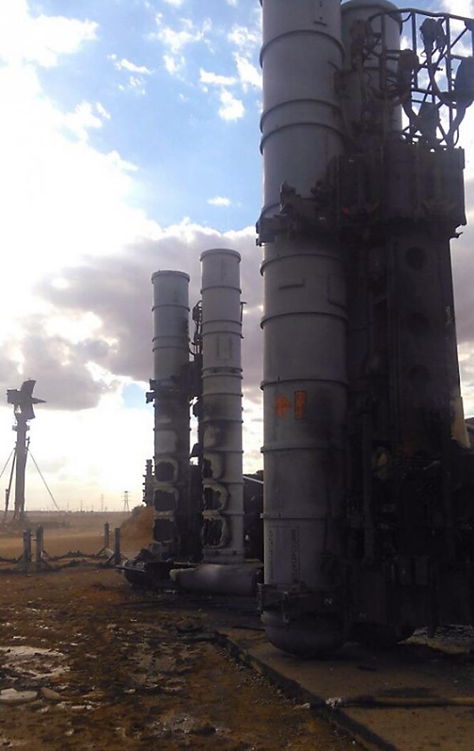 Фото №2 - Очевидец снял на видео взрыв неудачно стартовавшей зенитной ракеты С-300