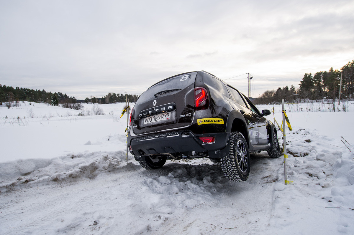 Renault на бездорожье, фото 1
