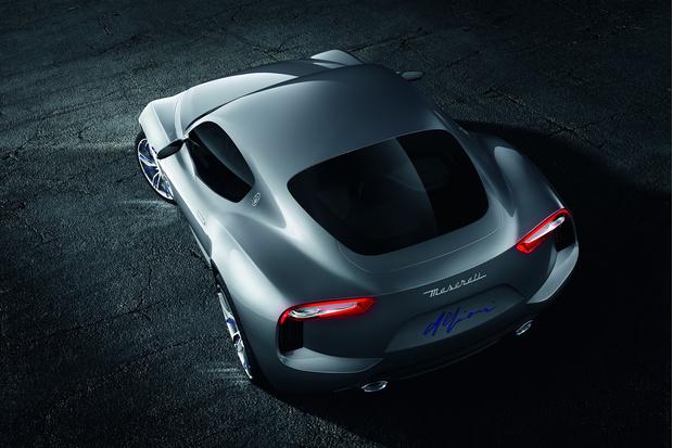 Фото №4 - Новый концепт Maserati - машина, в которой можно курить на большом ходу
