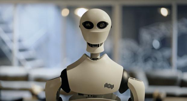 Фото №1 - Японцы выпустили робота-аватара, который выглядит как маньяк (ВИДЕО)