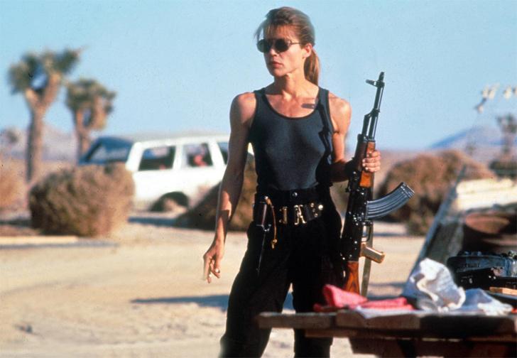 Фото №1 - Линда Хэмилтон снова стала Сарой Коннор! Первые ФОТО со съемок «Терминатора-6»!