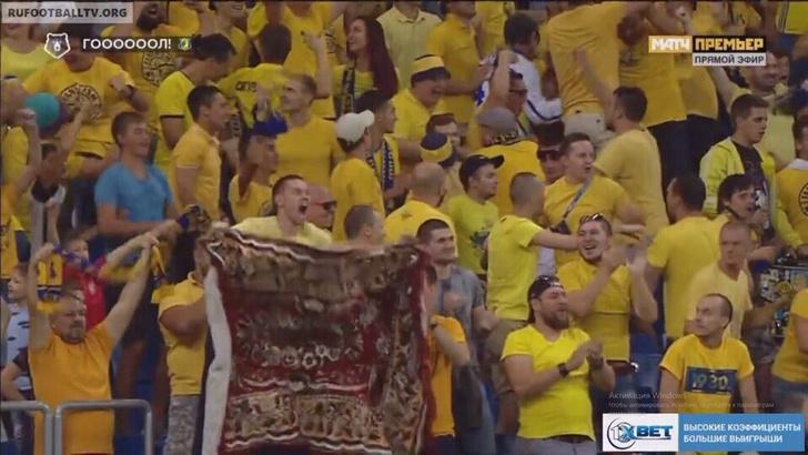 Фото №1 - Как простой ковер стал талисманом футбольного клуба «Ростов» (быль с фото и видео)