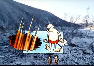 Странная история с вроде бы падением гигантского метеорита на Дальнем Востоке (видео с как бы места событий)