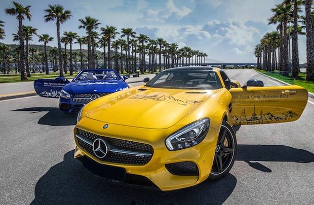 Фото №2 - Однодневные туристические программы по региону Сочи за  рулем «Mercedes-Benz»