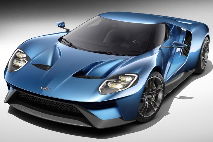 Фото №1 - Этюд в синих тонах. Краткая история противостояния Ford и Ferrari