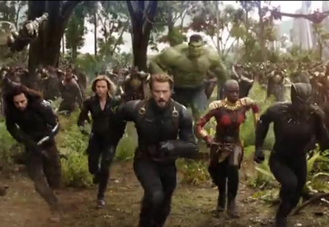 Феерический первый трейлер фильма «Мстители. Война бесконечности»