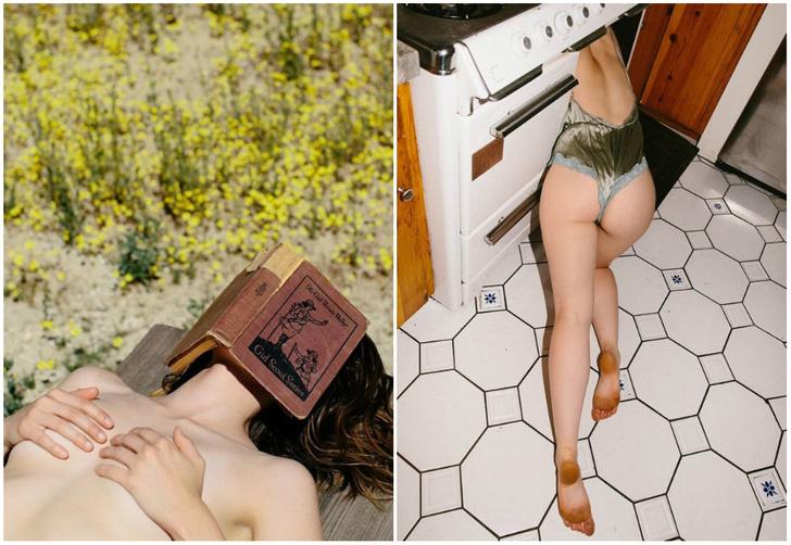 Фото №1 - Хипстерская эротика: 25 лучших кадров фотографа Софии Синклер