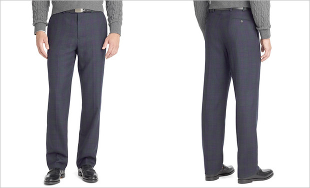 Правильная посадка брюк