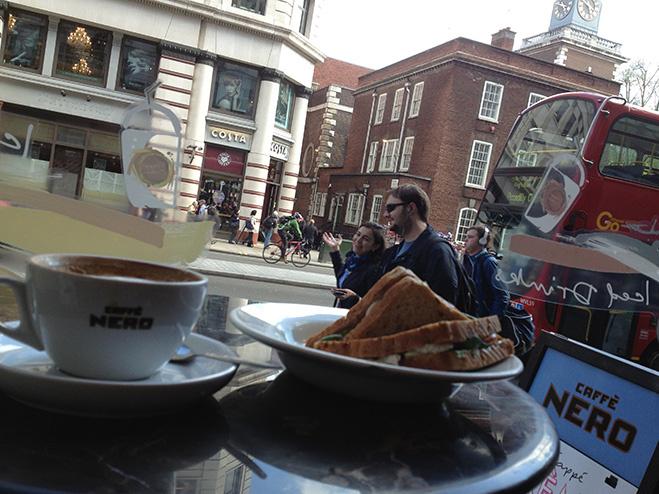 Caffe Nero, Лондон