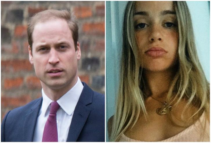 Фото №1 - Оказывается, у принца Уильяма есть хорошенькая сестра-модель!
