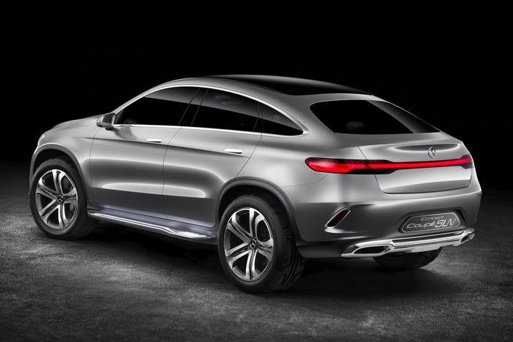 Фото №4 - Mercedes Concept Coupe SUV — автомобиль с нескромными габаритами