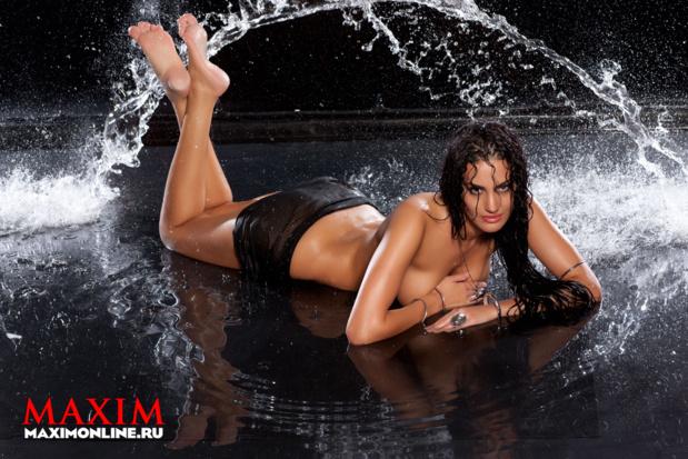 Ева Ривас фото для Maxim
