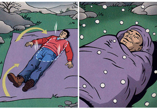 Как спать под первым снегом без вреда для здоровья