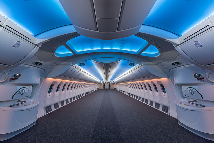 Фото №1 - Летающие лимузины! Как выглядят пассажирские самолеты, превращенные в частные