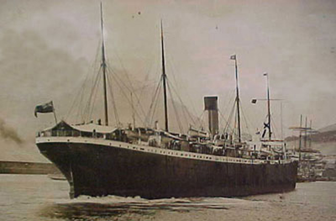 Норвежское судно «Имо»