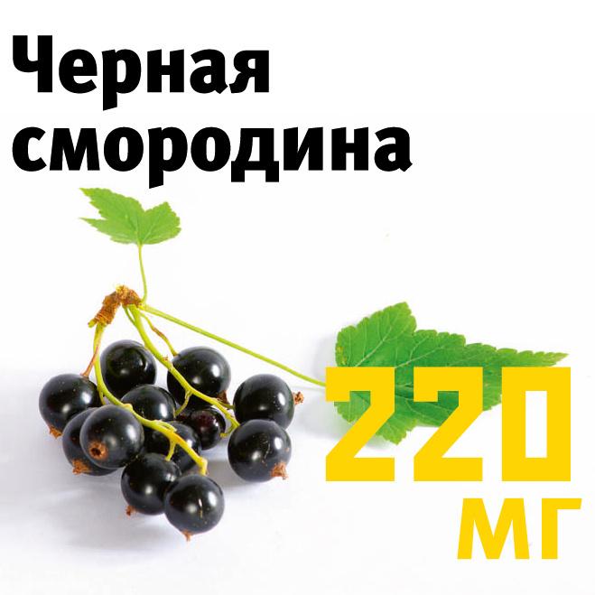 Черная смородина содержание витамина С