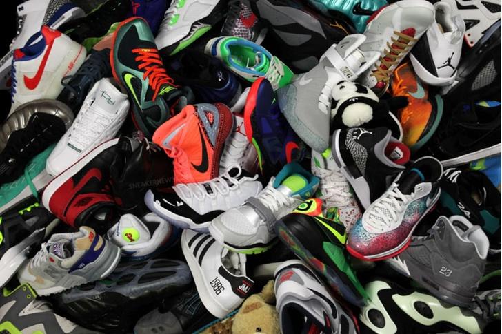 Фото №1 - Ограбление века: американец украл тринадцать правых кроссовок