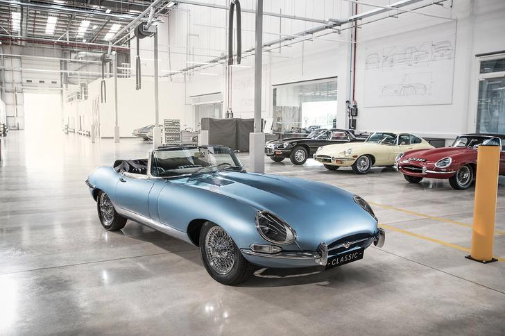 Фото №6 - Кто посмел перевести легендарный Jaguar E-Type на электричество?! Ой, это же они сами…