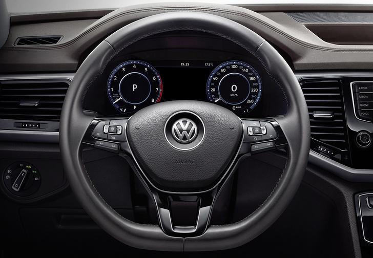 Фото №3 - Большой малый: внедорожник Volkswagen Teramont