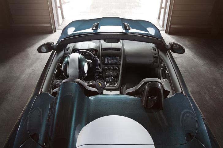 Фото №4 - Родстер Jaguar F-Type Project 7 — до первой сотни разгоняется всего за 3,9 секунды
