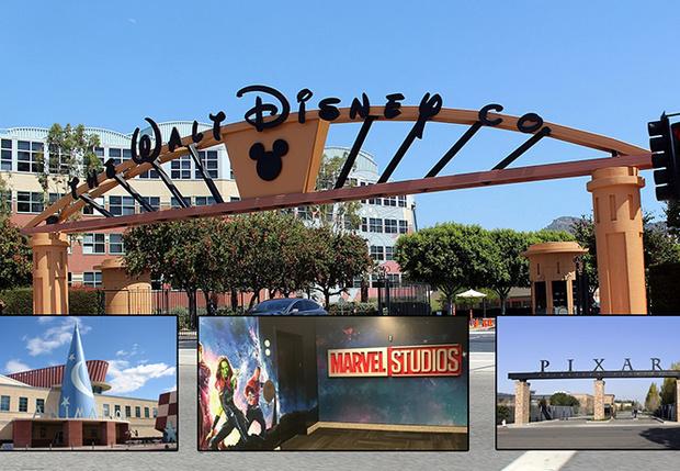 Фото №1 - Все подразделения и компании, купленные Walt Disney, в одной картинке (инфографика)