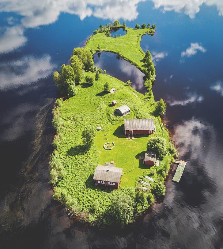 Фото №3 - Как выглядит остров Котисаари во все времена года