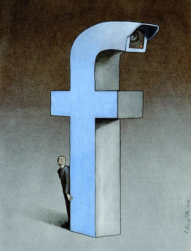 Фото №5 - Вся правда о «Фейсбуке» от карикатуриста Павла Кучински