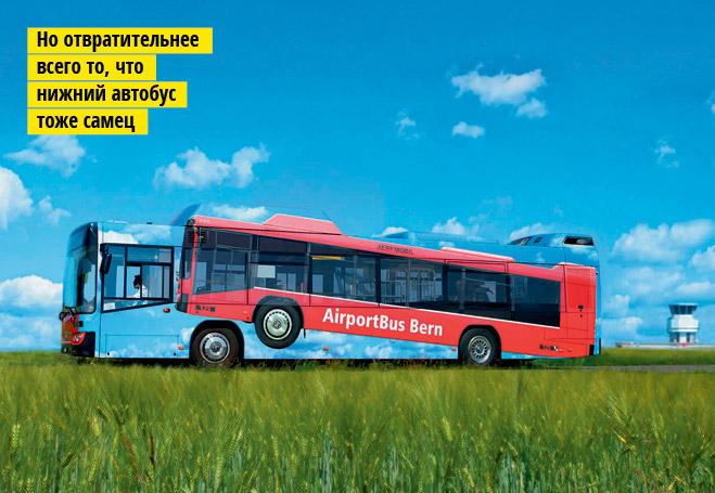 Фото №7 - Не только средство передвижения: 12 примеров остроумной рекламы на автобусах