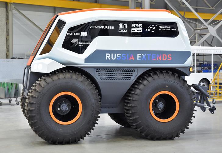 Фото №1 - Российский автобусный завод создал вездеход-беспилотник для Арктики