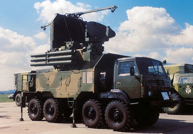 Зенитно-ракетно-пушечный комплекс «Панцирь-С1»