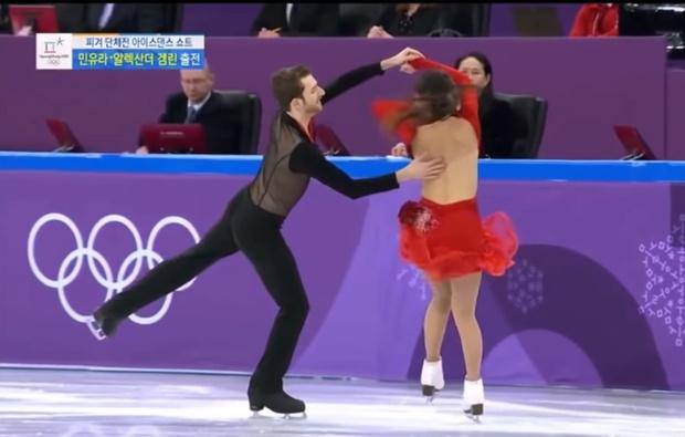 Фото №1 - У корейской фигуристки порвался топик прямо во время выступления! (ВИДЕО с нотками ню)