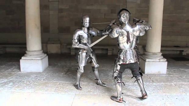Фото №1 - На что способен воин во французских доспехах XV века (видео)