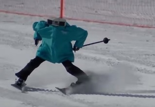 Смертельный слалом роботов-лыжников на Олимпиаде! Доехали не все! (Неустойчивое ВИДЕО)
