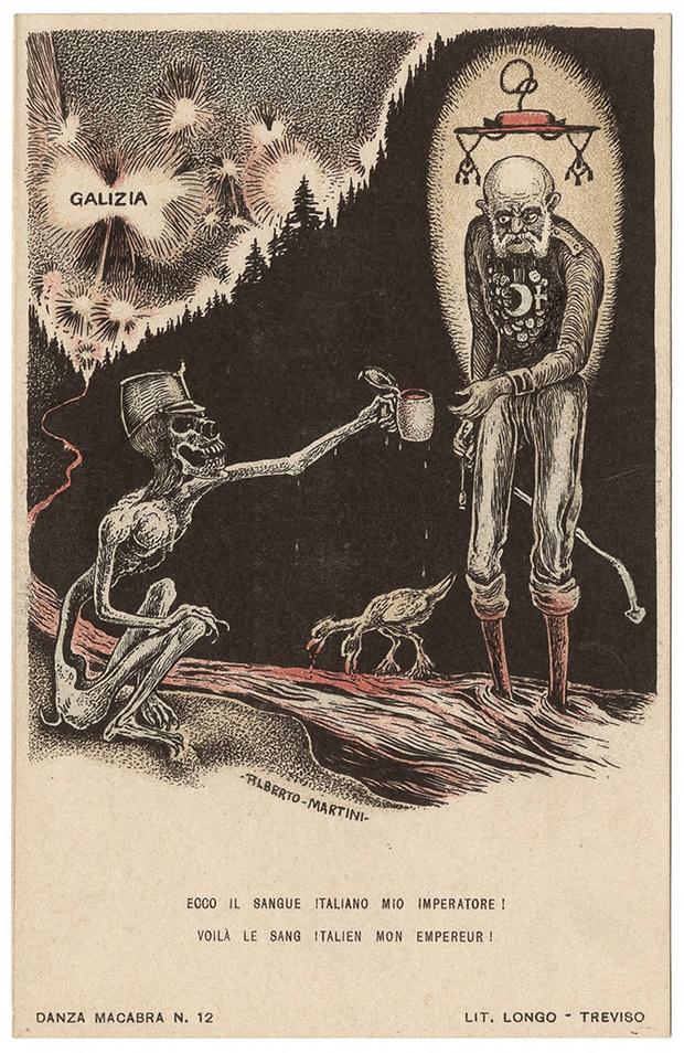Фото №51 - Жутковатые карикатуры Первой мировой