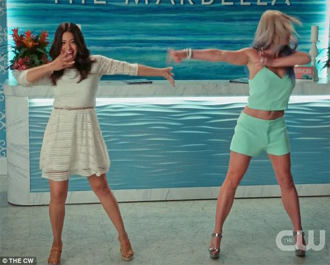 Бритни Спирс на шоу Jane the Virgin