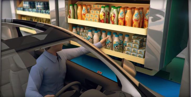 Фото №1 - В Дубае появится первый в мире супермаркет для ленивых автомобилистов! (ВИДЕО)