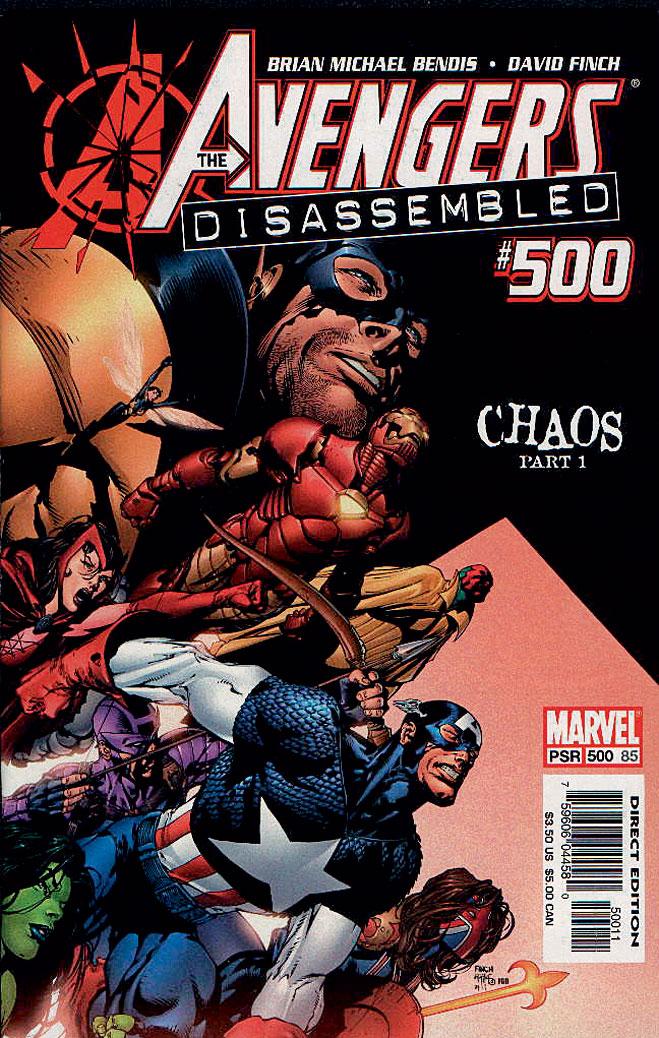 В 500-м выпуске «Мстителей» гибнут почти все герои
