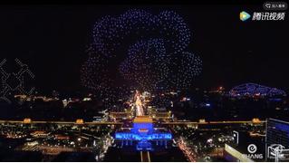 Танец тысячи дронов (захватывающее ВИДЕО)