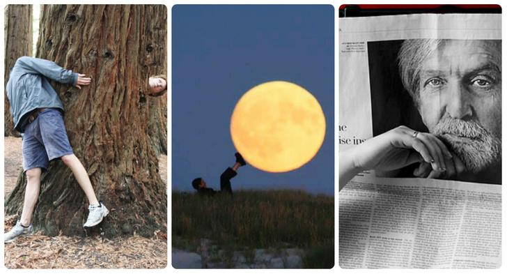 Фото №1 - Улучшайзинг наладошкинга: 26 идей для необычной фотографии