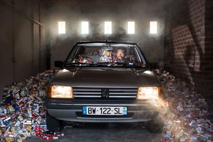 Фото №7 - Фотограф 4 года не выбрасывал мусор, и вот что из этого вышло