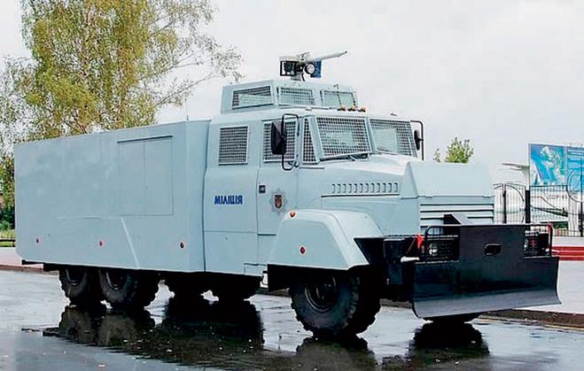 Пожспецмаш АВС-30 (Украина)