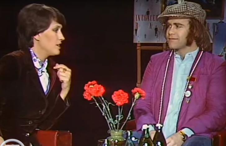 Фото №1 - Интервью с Элтоном Джоном на советском телевидении в 1979 году